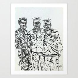 Boot Camp Art Print
