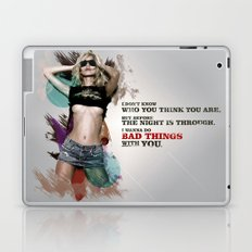 Bad Things Laptop & iPad Skin