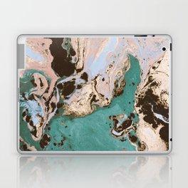 Modern marbled paper Laptop & iPad Skin