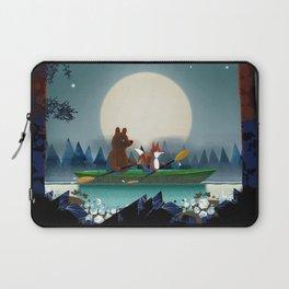 Bear and Fox Laptop Sleeve