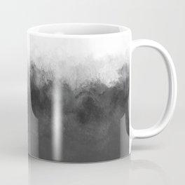 Dove Gray and White Light Abstract Coffee Mug