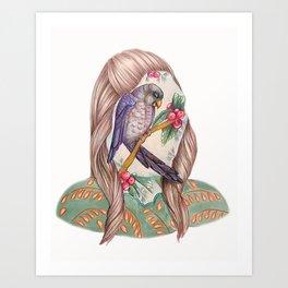Self Portrait IV Art Print