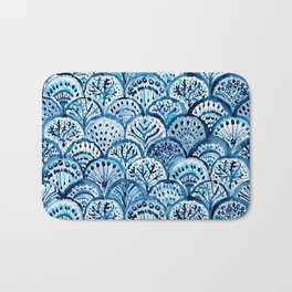 DEEP LIFE Mermaid Scales Bath Mat