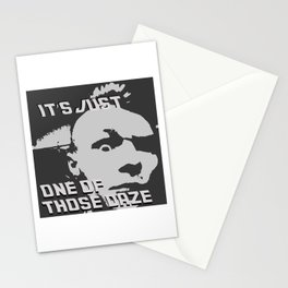 It's Just One of Those Daze Stationery Cards