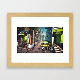 Avenue Framed Art Print