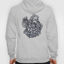 Abstract pen drawing  - 'Drips'  Hoody