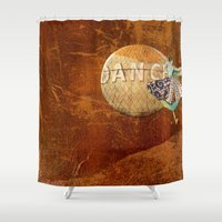 dancer Shower Curtains featuring Dancer by Bonnie M. Cummings ~ BeauCollage