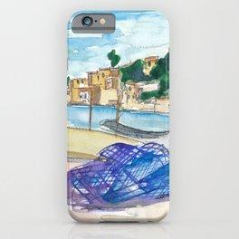 Mallorca Baleares Harbour Scene iPhone Case