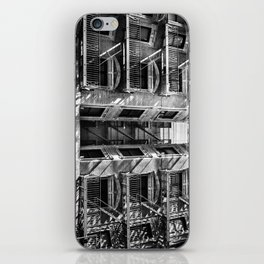 New York fire escapes iPhone Skin