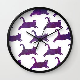 Leap To The Stars Wall Clock