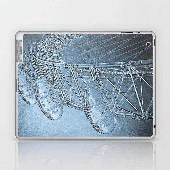 Embossed London Eye Laptop & iPad Skin