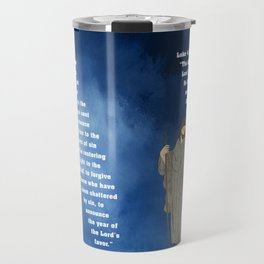 Jesus of Nazareth the Good Shepherd Travel Mug