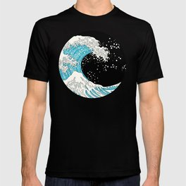 The Great Wave (night version) T-shirt