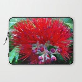Liko Lehua - Budding Lehua Blossom Laptop Sleeve