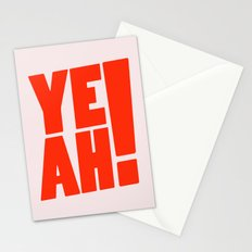 Yeah / 1 Stationery Cards