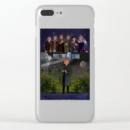 Seven Doctors Clear iPhone Case