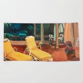 Golden Girls Lannai Beach Towel