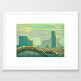 Canyon Framed Art Print