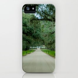 Tree Avenue iPhone Case