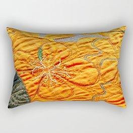 Nasturtiums I Rectangular Pillow