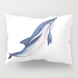 Striped baby dolphin Pillow Sham
