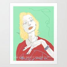 Clarice Lispector Art Print