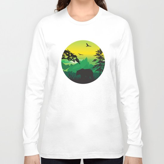 My Nature Collection No. 43 Long Sleeve T-shirt