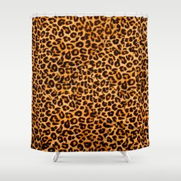 leopard pattern Shower Curtain