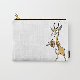 Springbok with a folding camera Carry-All Pouch