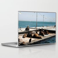 san diego Laptop & iPad Skins featuring San Diego by Taylor