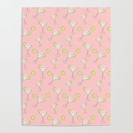 Cocktail pink Poster