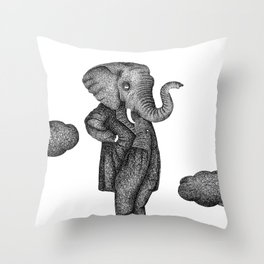 King of the world Throw Pillow