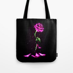 Beauty and The Beast Rose Flower Tote Bag