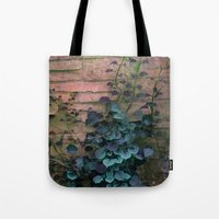 silent Tote Bags featuring Silent  by KunstFabrik_StaticMovement Manu Jobst