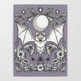 A Bat's Favorite Things Poster
