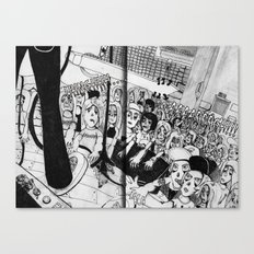 Zombie Gig Canvas Print