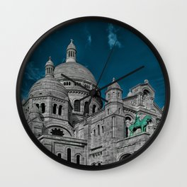 Sacre Ceour Wall Clock