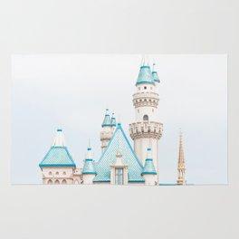 Disneyland Sleeping Beauty's Castle Rug