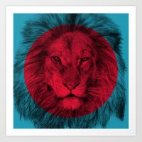 eric fan Art Prints featuring Wild 5 by Eric Fan & Garima Dhawan by Garima Dhawan