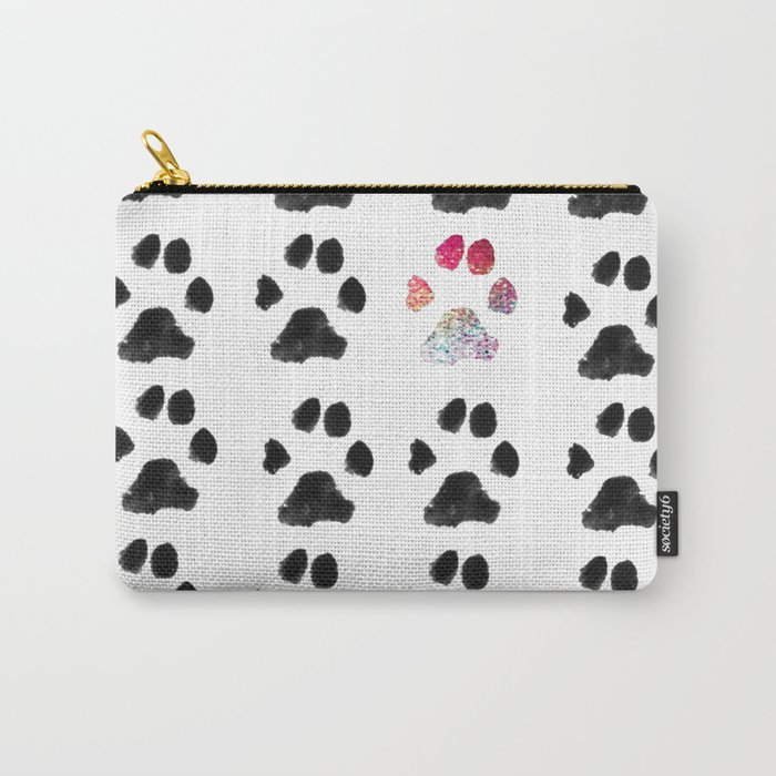 Adopt. Dont. Shop. Typography Carry-All Pouch