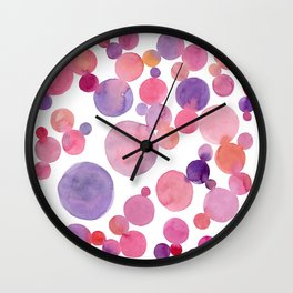I love Berries Wall Clock