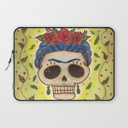 Frida Day of the Dead Laptop Sleeve