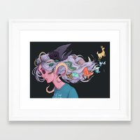 new order Framed Art Prints featuring New order by Anna Nilsson