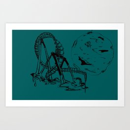 Arm Art Print