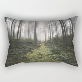 Unknown Road - landscape photography Rectangular Pillow