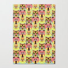 Modular Lions and Tigers and Bears. Canvas Print
