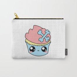 Cupcake Skull Carry-All Pouch