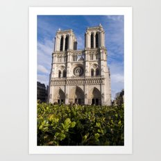 Notre Dame Paris Art Print