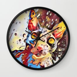 The Reigning Rex Wall Clock
