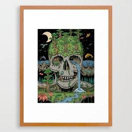 Skull of Life Framed Art Print